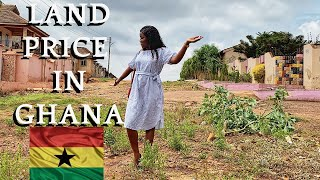 HOW MUCH IS LAND IN GHANA  BUY LAND IN GHANA  COST OF LAND IN ACCRA GHANA