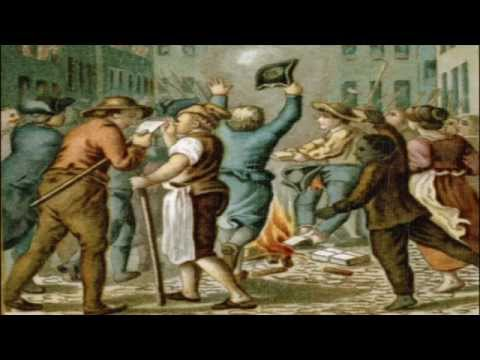 TOM FLEMING -  STAMP ACT PROTEST 1765