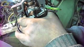 двигатель пылесоса после перемотки якоря...(, 2013-12-25T15:11:32.000Z)