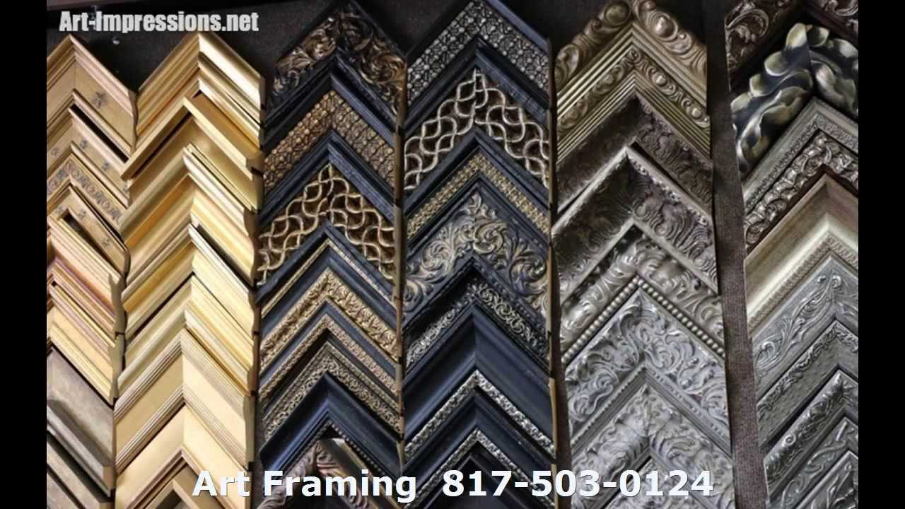 Dallas Picture Framing   Colleyville TX Custom Picture Frame Shop ...