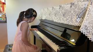 Calla Jin (7) Kuhlau, Sonatina in G Major, Op. 88 No. 2: III; Shostakovich Dances of The Dolls No. 1