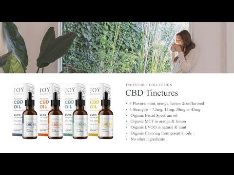 Educational Series (18 Of 31): Joy Organics CBD Oil Drops