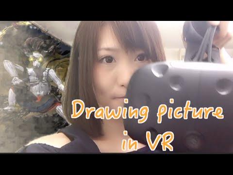 【VR Art#6】風神雷神/Wind and Thunder Gods(HTC Vive/TiltBrush)