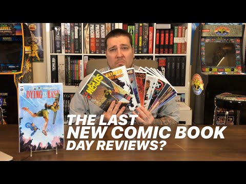The Last New COMIC BOOK Day Reviews?