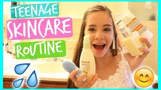 Summer Skincare Routine! Teenage Skin Tips! 2017