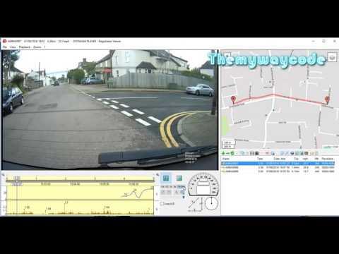 Tutorial On Editing #Dashcam Files Using Registratorveiwer