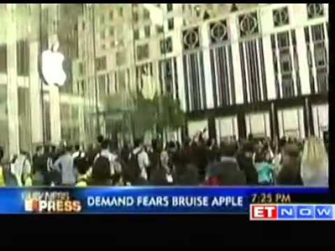 Slowing iPhone 5 sales bruise Apple