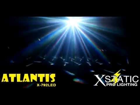 X-792LED Atlantis Xstatic Pro Lighting 36 watt LED DMX effect pro dj club stage Review