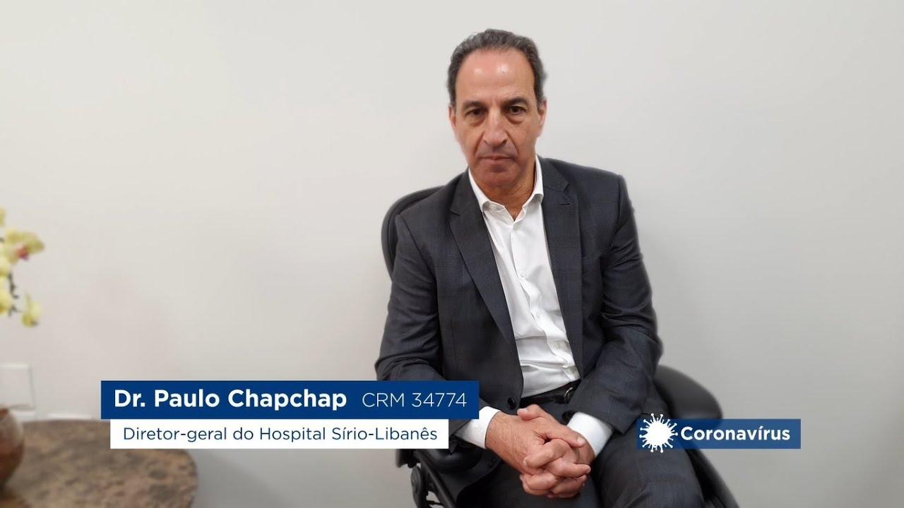 Omint - Dr. Paulo ChapChap, médico e diretor-geral do Hospital Sírio-Libanês.