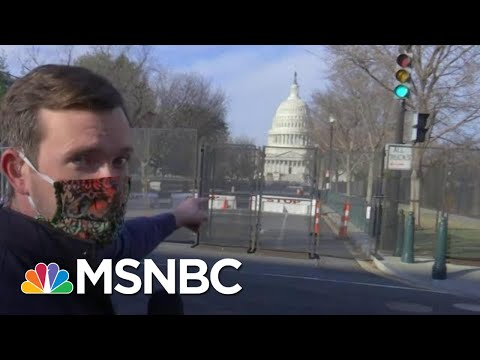 Armed National Guard Deployed To Protect Capitol Ahead Of Trump Impeachment Vote | MTP Daily | MSNBC