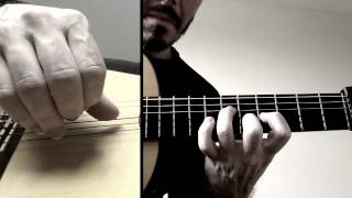Free Stroke Exercise - 6 (Plaza Alta by Paco de Lucia)