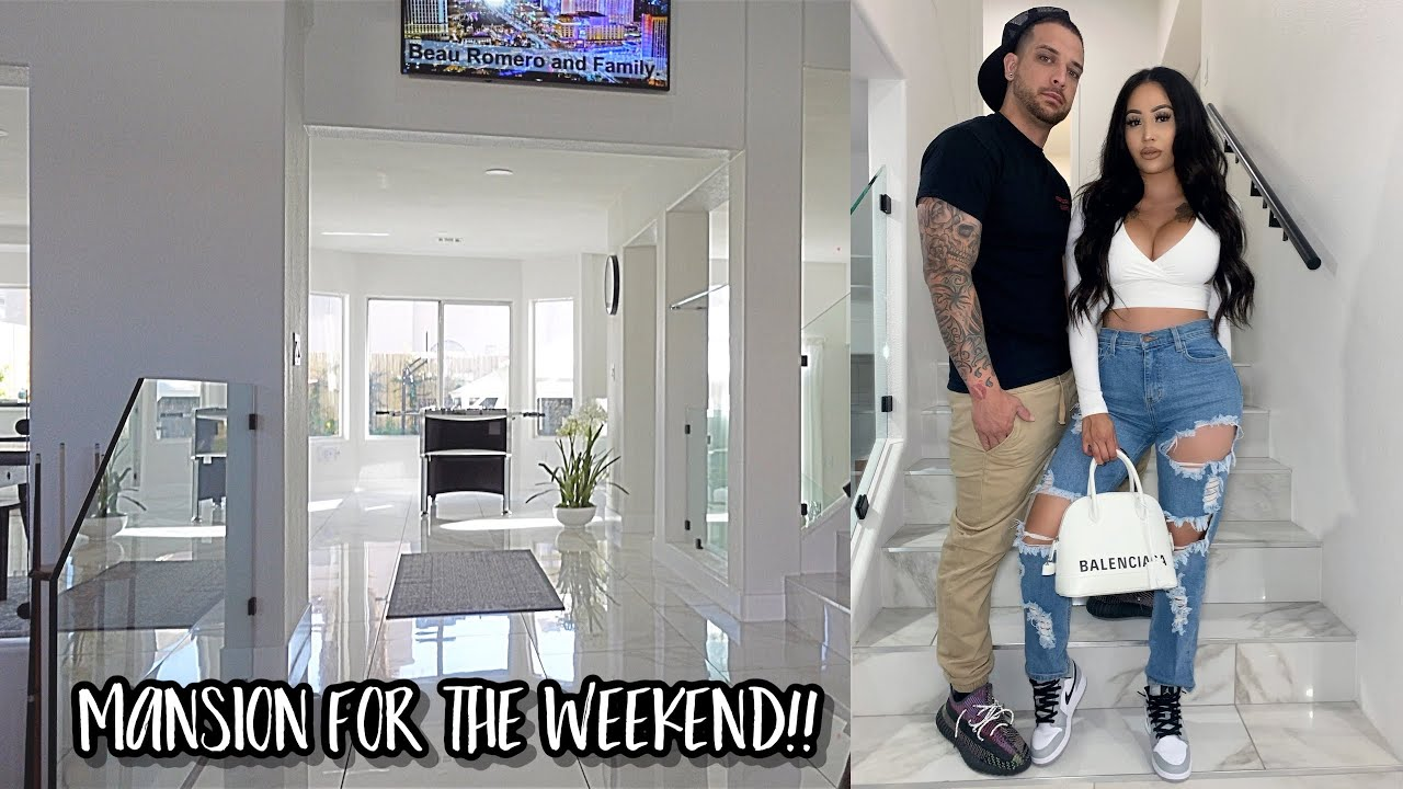 OUR FIRST FAMILY TRIP!! **Vegas Mansion**