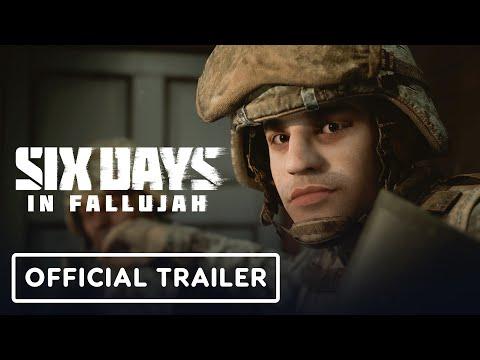 Six Days in Fallujah - Announcement Trailer 4K