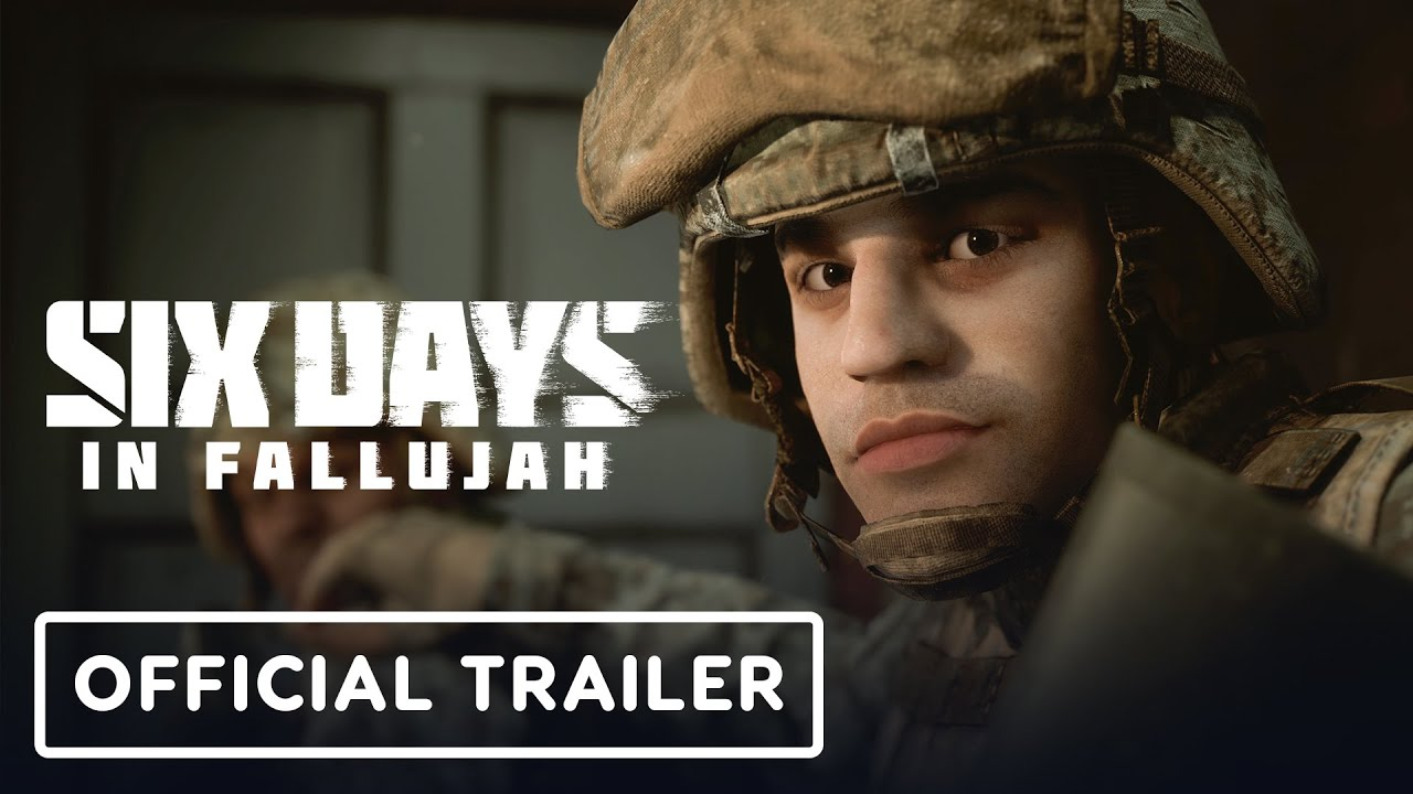 Six Days in Fallujah - Announcement Trailer 4K