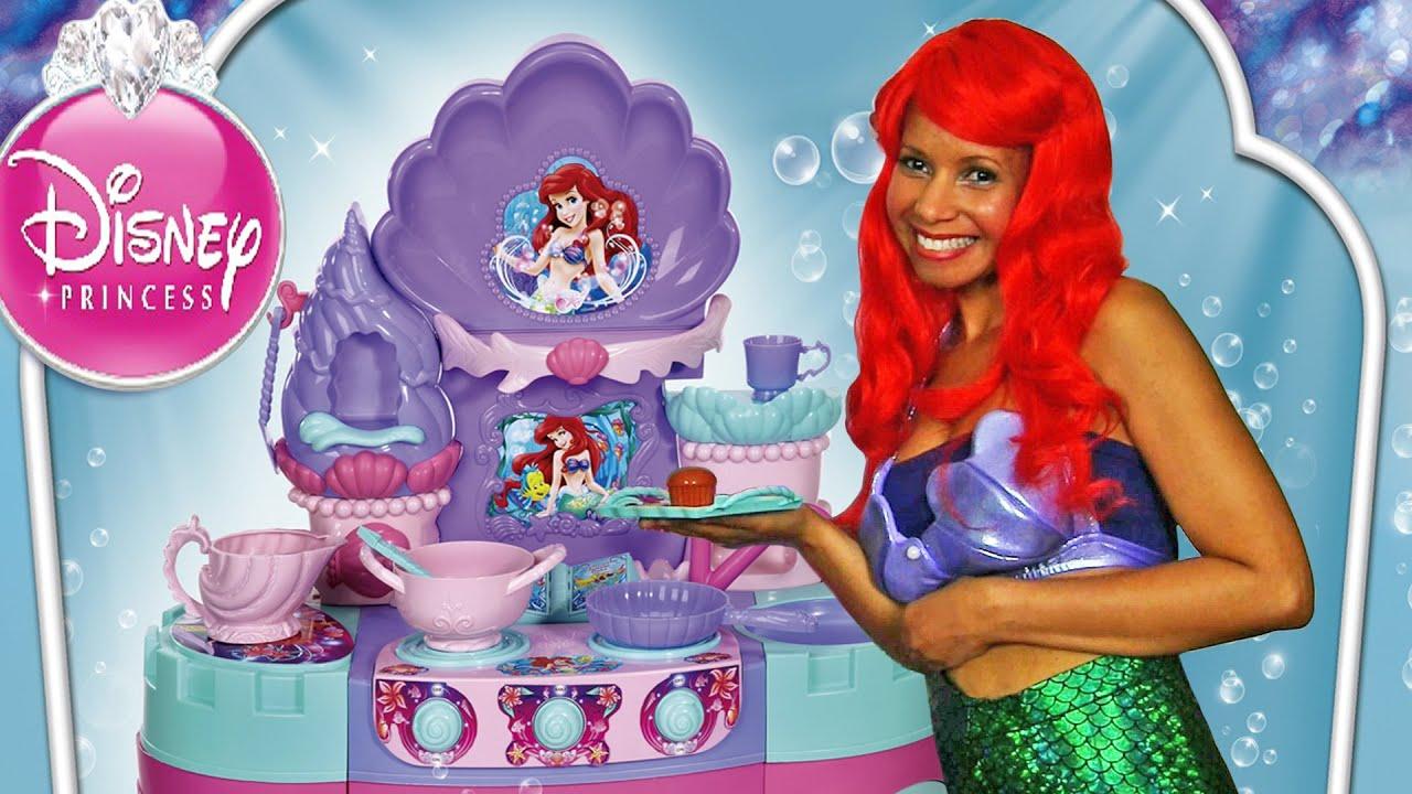 Disney Princess Magical Mermaid Kitchen With Ariel