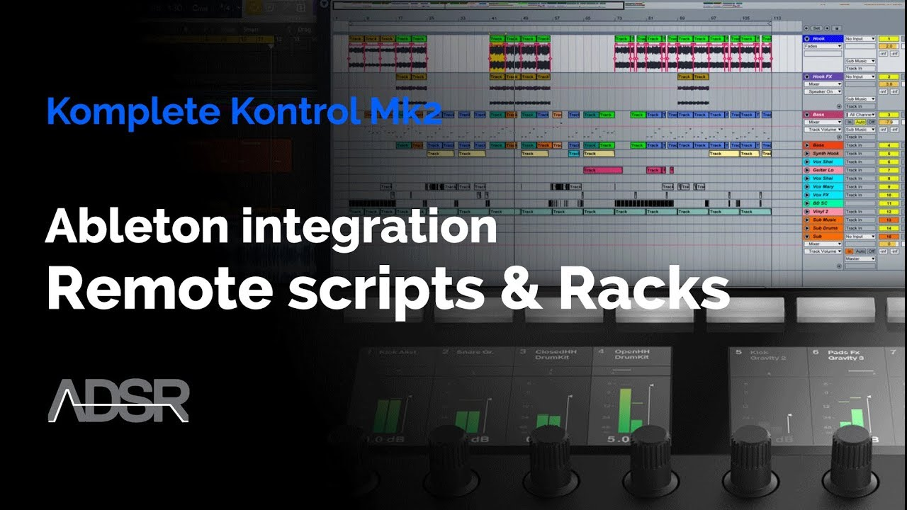 Komplete Kontrol mk2 - Ableton Integration: Setting up remote scripts &  Instrument racks