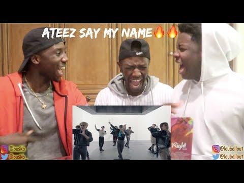 ATEEZ(에이티즈) - 'Say My Name' Official MV   REACTION