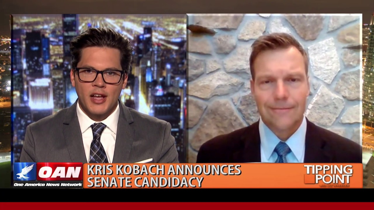 Kris Kobach Announces Senate Candidacy
