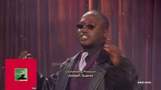 Kanye West albums described by The Eric Andre Show