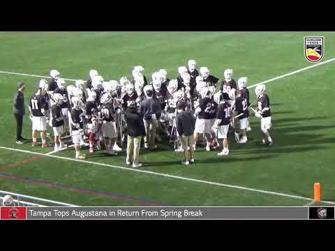 2018 Tampa Men\'s Lacrosse vs. Belmont Abbey 0314