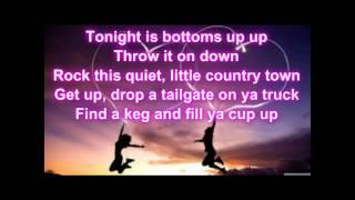 BOTTOMS UP -- BRANTLEY GILBERT (lyrics)