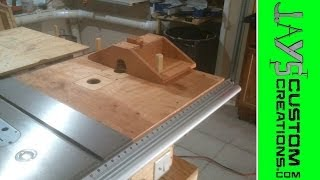 Making My Dual Router Table - 086