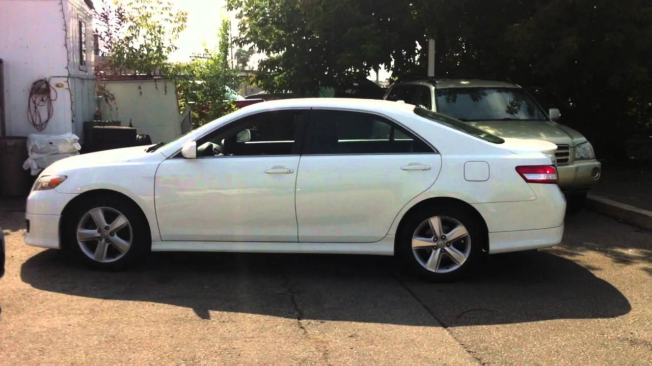 2010 Toyota Camry Se 2010 Toyota Camry Se Startup Amp In Depth Tour Part 1 Youtube