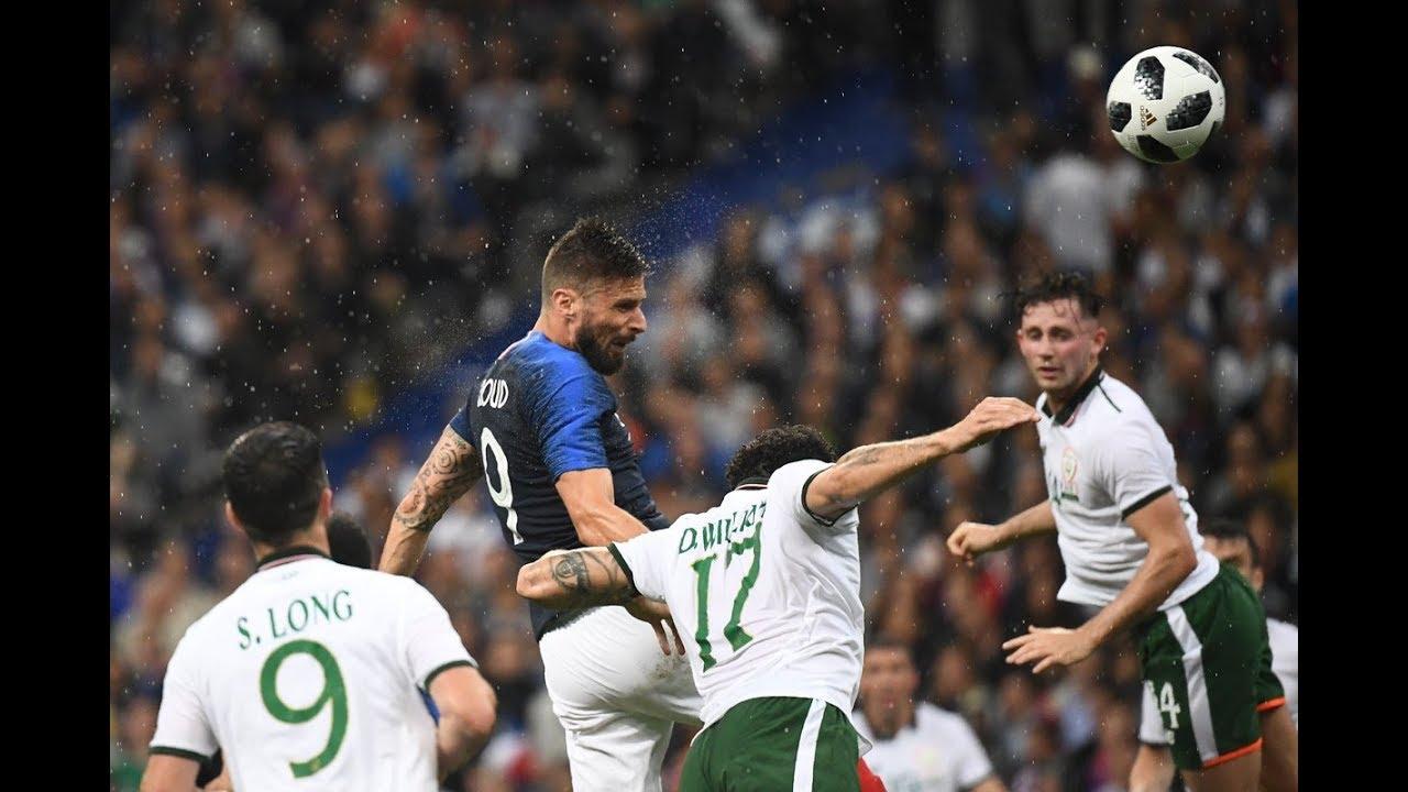 france 2-0 irlande - r u00e9sum u00e9 du match - 28  05  2018 hd