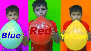 Colors Song and Balloons with Guka + more kids songs for kids