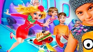 СМЕШНОЕ ВИДЕО ДЛЯ ДЕТЕЙ Новый игровой мультик ПРО САМОЛЕТ детская игра TabTale