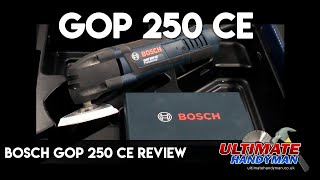 Bosch GOP 250 CE review