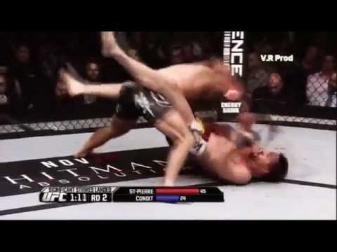 Georges St-Pierre vs Carlos Condit UFC 154 Highlights