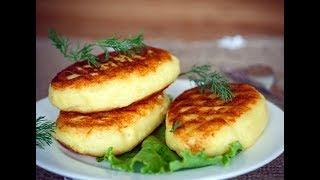 Картофельные зразы.(Potato catlets zrazy)
