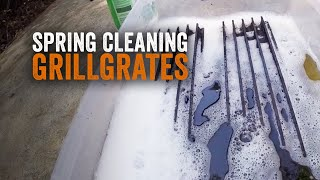 Spring Cleaning GrillGrates
