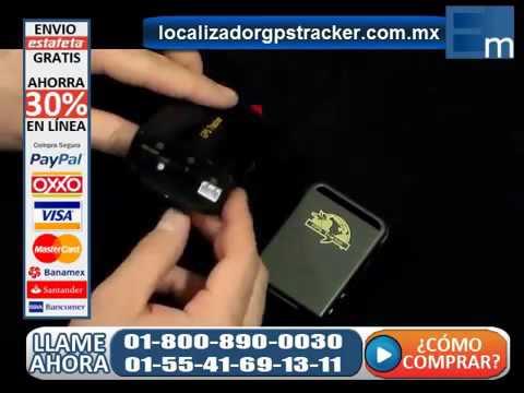 Como Rastrear Un Vehiculo Localizador GPS TK 103a