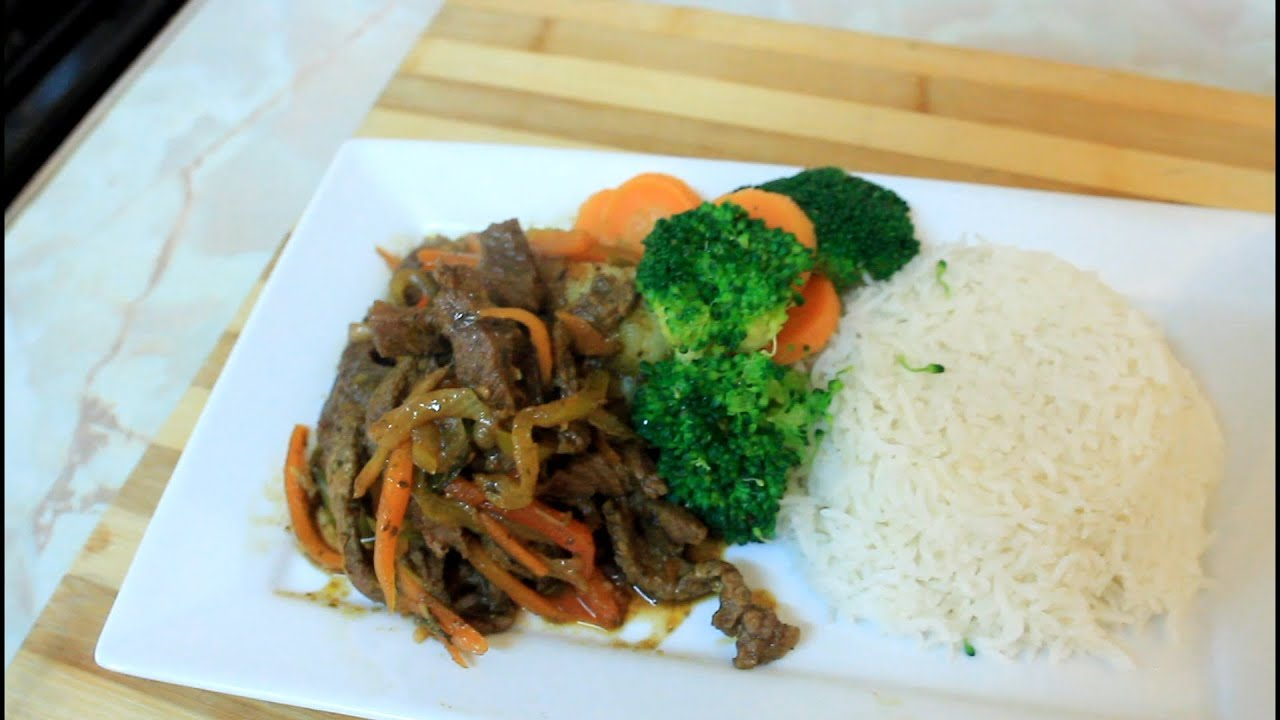 How to make pepper steak and rice at home youtube - Six alternative uses of rice at home ...