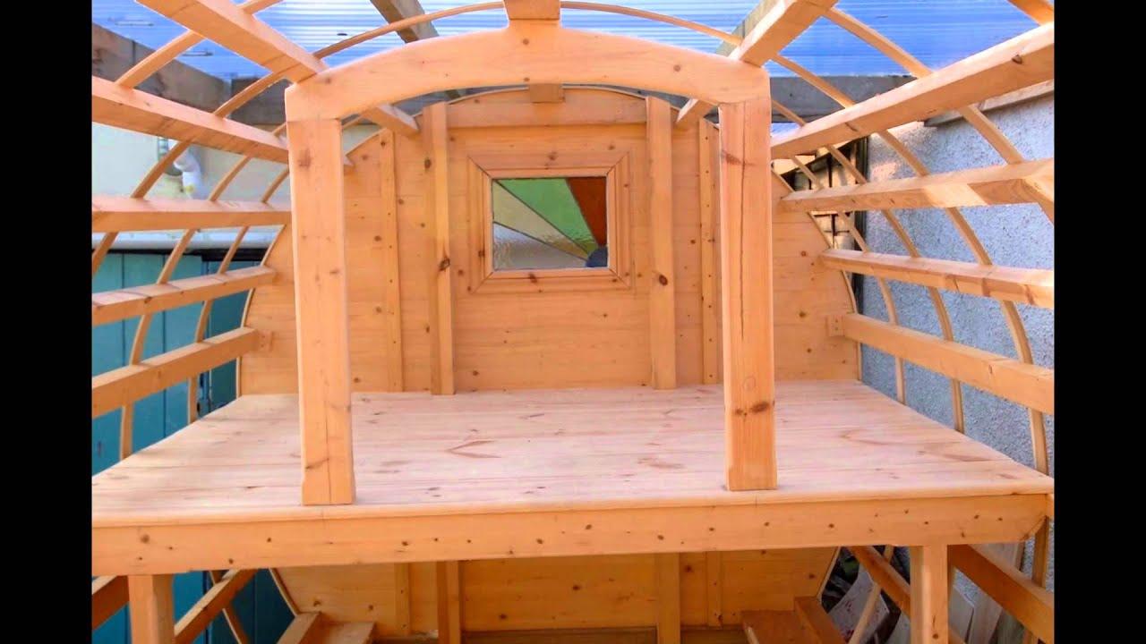 how to build gypsy wagon