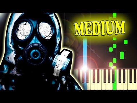 IMAGINE DRAGONS - RADIOACTIVE - Piano Tutorial