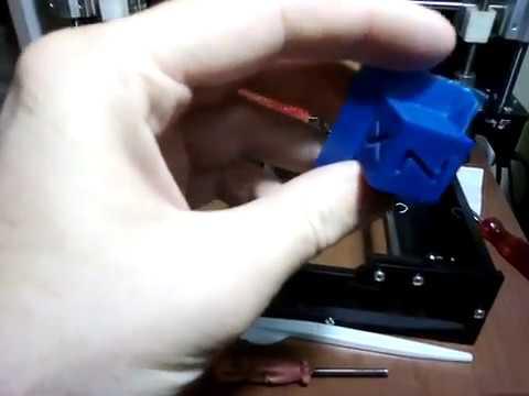 Наконец-то отпечатался ровный калибровочный кубик