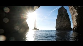 Sailing a Catamaran in Greece