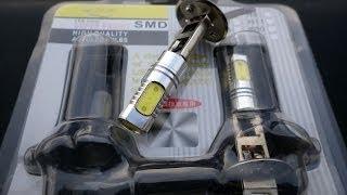 Светодиодные лампы головного света и NEXIA N-150(Лампы куплены на Али: http://www.aliexpress.com/snapshot/6038935692.html., 2014-04-08T15:19:47.000Z)