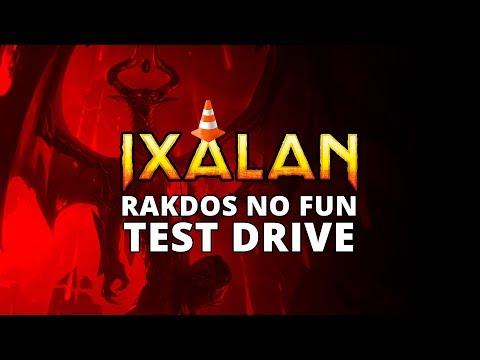 Rakdos No Fun Ixalan Standard Test Drive | MTGO Stream
