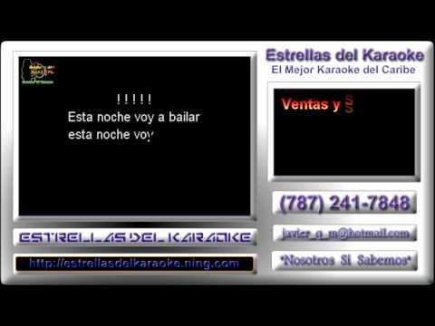 Karaoke Zafra Negra - Sacude la tristeza