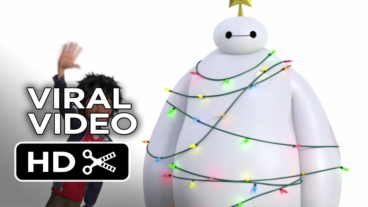 Big Hero 6 VIRAL VIDEO - Baymax Christmas Tree (2014) - Disney ...