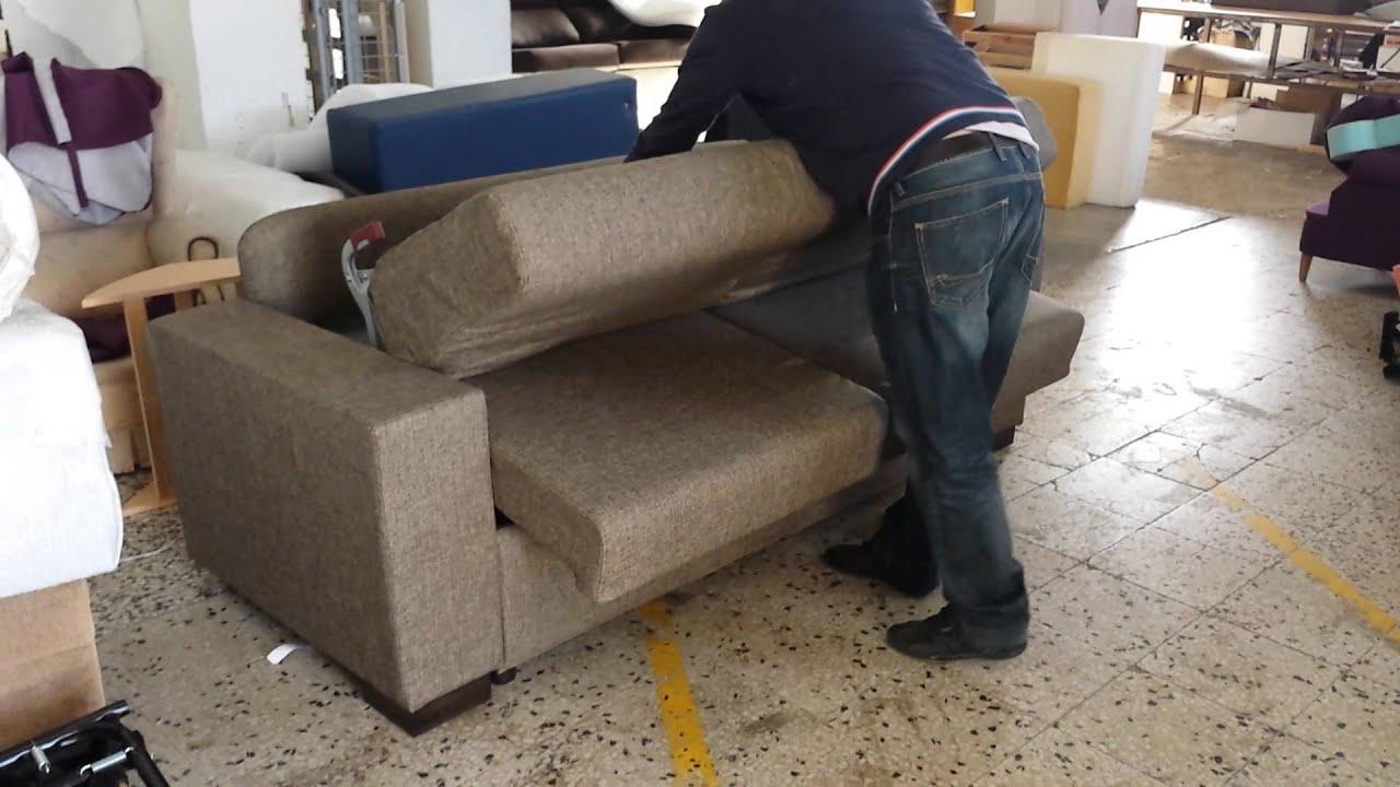 Como funciona sofa cama italiano youtube - Sofas italianos diseno ...