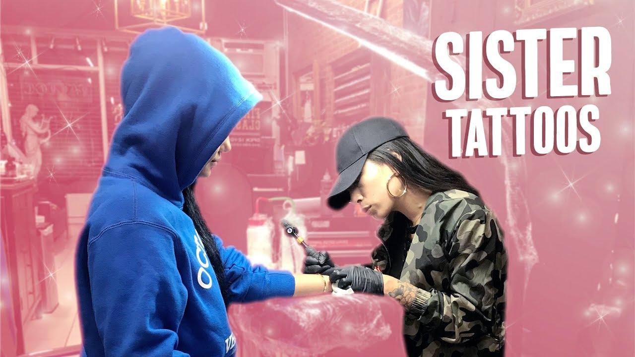 We Got Tattoos!! ft. my sisters Gabrielle & Tanaya | Katya Elise Henry
