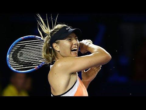 Maria Sharapova v Aliaksandra Sasnovich highlights (2R) | Australian Open 2016