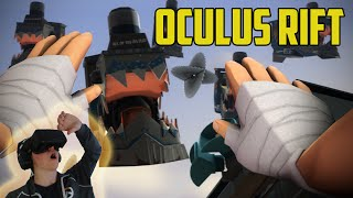 Oculus Rift Insanity! VR On TrainSawLaser!