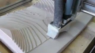 Building 3d Fiberglass Cfk, Carbon Fibre Laminate Laminating Mold With Cnc Router / Cnc Fräse