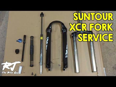 Suntour XCR Fork Service - Disassemble/Clean/Lube/Re-assemble